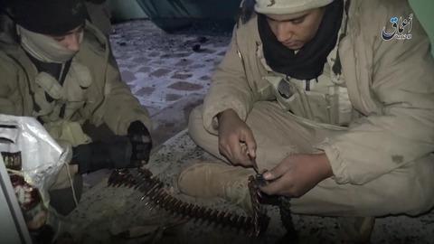 モスル東部第2カデシヤ地区での戦闘2
