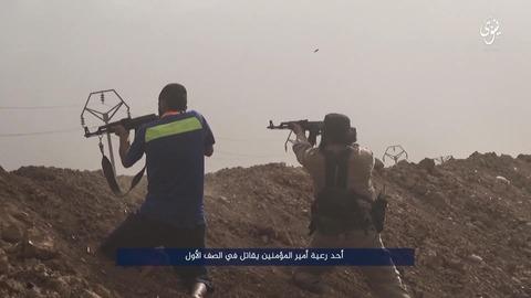 イスラム国と共に戦うモスルの一般市民