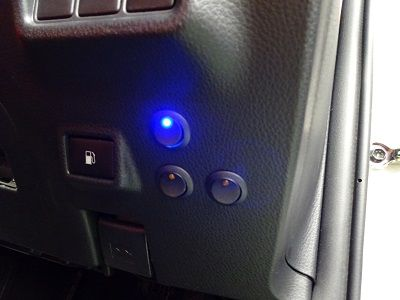 C-HR デイライト スイッチ取付