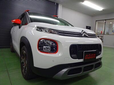 シトロエン 山梨県 ドライブレコーダー取付