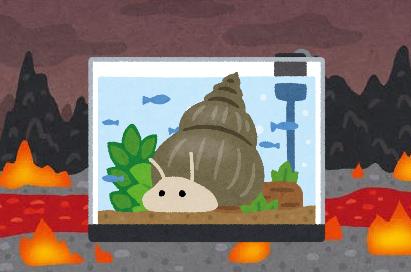 【悲報】アクア民さん、水槽にタニシを大量投入し地獄を創造してしまう・・・
