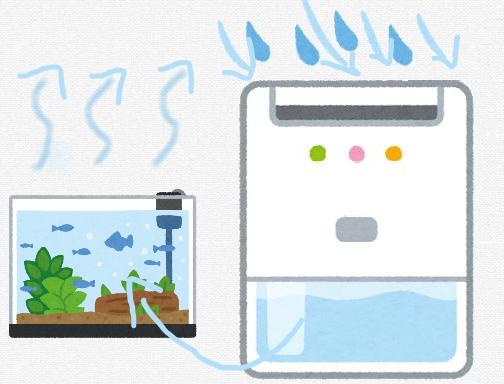 【天才】海水アクア民さん、水槽から蒸発した水を除湿器で回収し水槽に戻す永久機関を考案するwwwwwwww