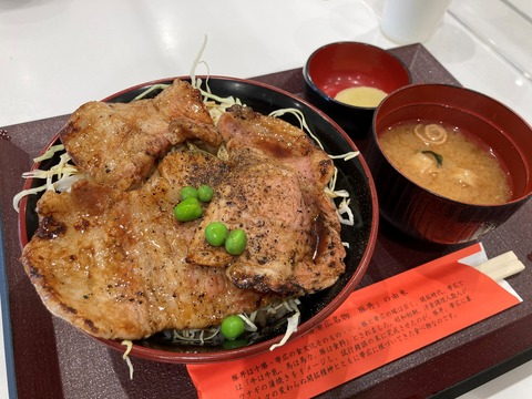 豚丼のぶたはげ (2)