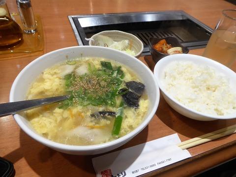 冷麺と焼肉ととり (2)