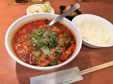 冷麺と焼肉トトリ (2)