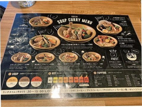 Soup curry Ouchi (2)