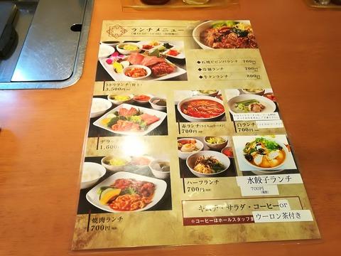 冷麺と焼肉トトリ (1)