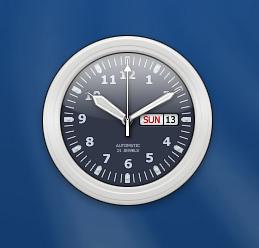 rainlendar clock