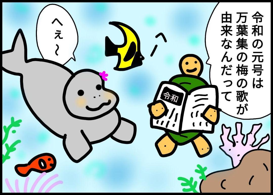 259.令和に因んだ梅色の魚?!