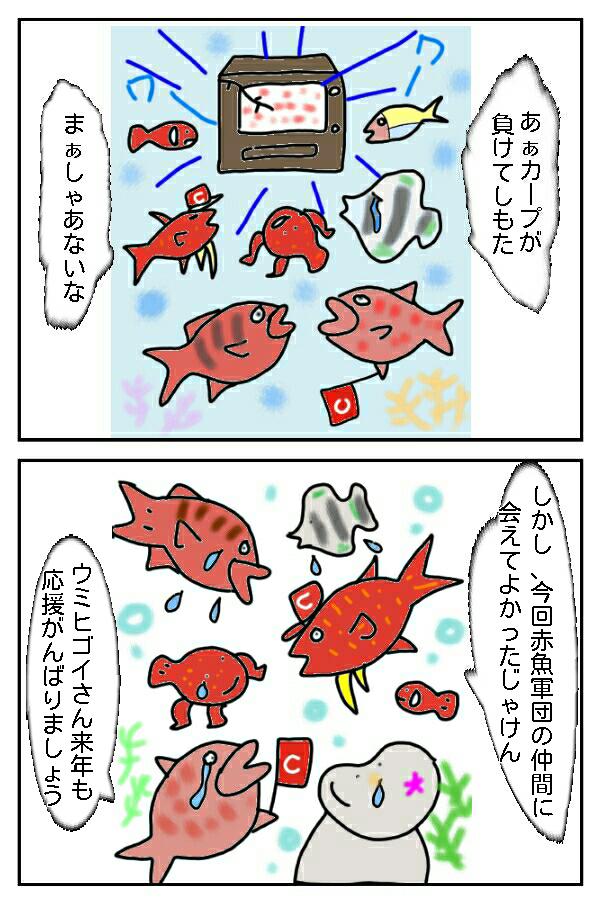 127.アカマンボウのう~マンボ!