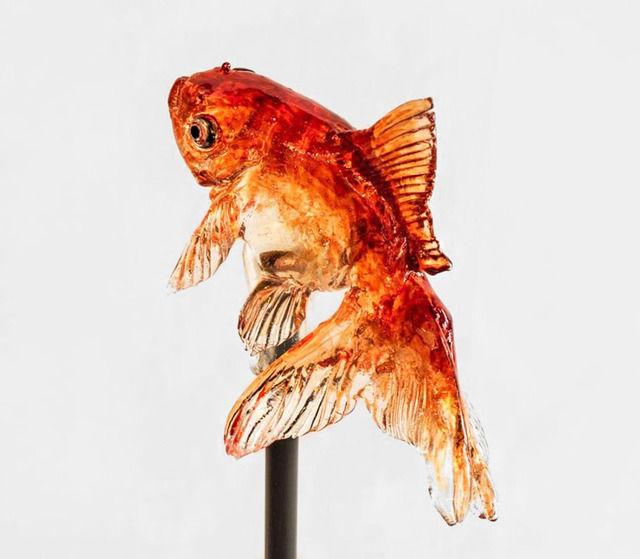 なにこれ凄い!日本の飴職人が作る「金魚」が美しすぎると海外サイトで紹介される(画像あり)