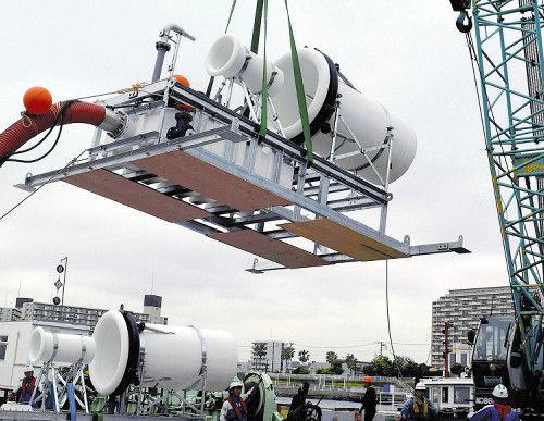 【環境】アサリ滅ぼす青潮防げ、東京湾初の「水流発生装置」が導入される 費用は約1530万円