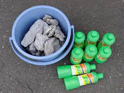 【アクアリウム】サンポールで石の酸処理…失敗した助けて!