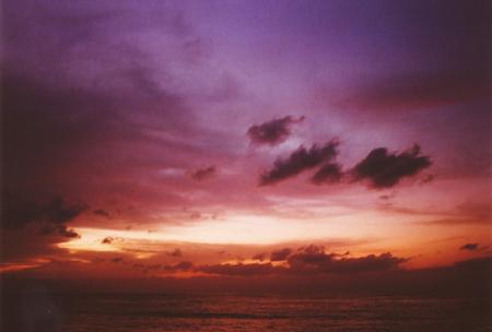 「とある秋の日の夕暮れ」