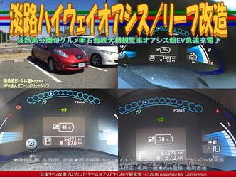 淡路ハイウェイオアシス(3)/リーフ改造01