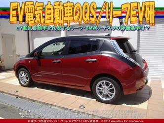 EV電気自動車のQS(2)/リーフEV研03