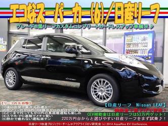 エコなスーパーカー(6)/日産リーフ02