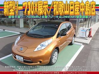 新型リーフ30X展示(5)/和歌山日産中島店03