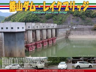 椿山ダム・レイクブリッジ@日産リーフ改造01