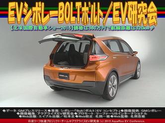 EVシボレーBOLTボルト(2)/EV研究会05