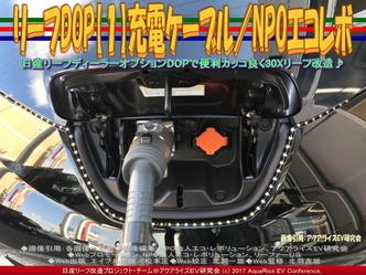 リーフDOP【1】充電ケーブル/NPOエコレボ画像02
