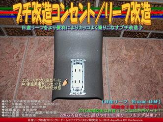 プチ改造コンセント/リーフ改造03