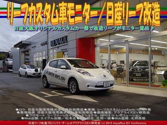 リーフカスタム車モニター/日産リーフ改造03