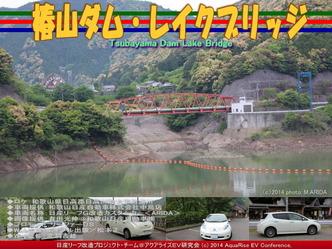 椿山ダム・レイクブリッジ@日産リーフ改造06