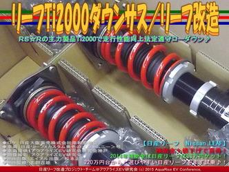 リーフTi2000ダウンサス(2)/リーフ改造02