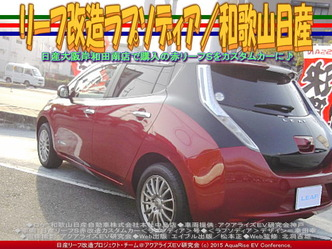 リーフ改造ラプソディア(3)/和歌山日産02