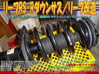 リーフRS-Rダウンサス(2)/リーフ改造04