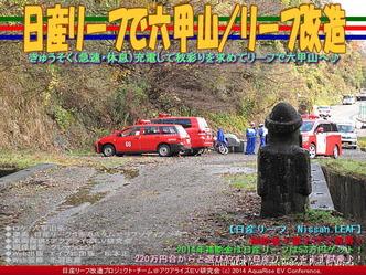 日産リーフで六甲山/リーフ改造04