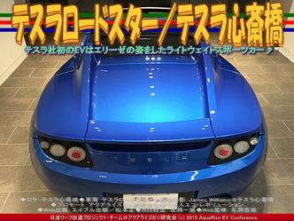 テスラロードスター(2)/テスラ心斎橋02