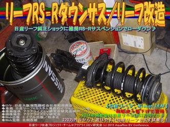 リーフRS-Rダウンサス(2)/リーフ改造05