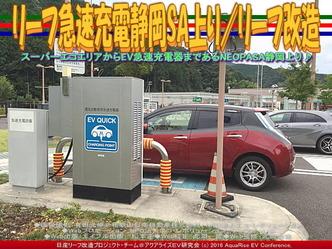 リーフ急速充電静岡SA上り/リーフ改造01