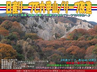 日産リーフで六甲山/リーフ改造01