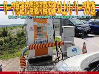 リーフ急速充電駿河湾沼津SA上り/リーフ改造01