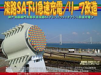 淡路SA下り急速充電(3)/リーフ改造01
