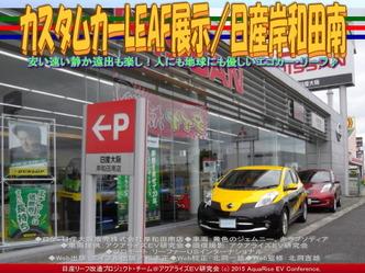 カスタムLEAF展示/日産岸和田南01