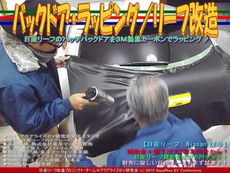 バックドア・ラッピング(3)/リーフ改造02