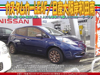 カスタムカーLEAF/日産大阪岸和田南01