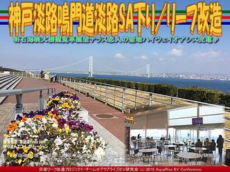 神戸淡路鳴門道淡路SA下り/リーフ改造03