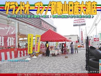グランドオープン/和歌山日産大浦店@リーフカスタム06