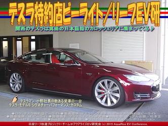 テスラ特約店ビーライト/リーフEV研03