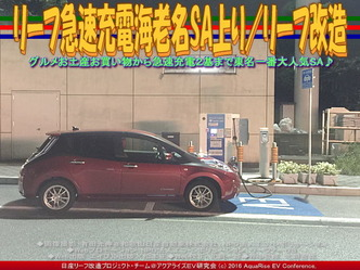 リーフ急速充電海老名SA上り/リーフ改造01