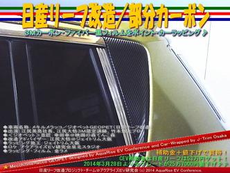 日産リーフ改造/部分カーボン@アクアライズEV研究会07