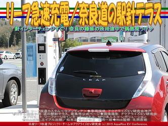 リーフ急速充電/奈良道の駅針テラス03