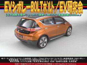 EVシボレーBOLTボルト(2)/EV研究会04