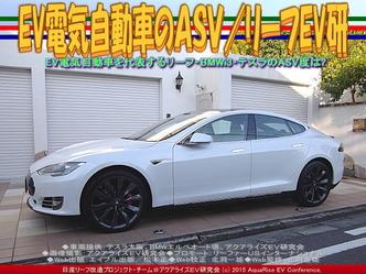 EV電気自動車のASV(3)/リーフEV研01