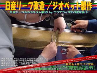 日産リーフ改造/ジオペット製作@アクアライズEV研究会 05